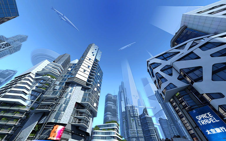 http://ru.3planesoft.com/img/futuristiccity_widescreen02.jpg
